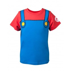NINTENDO - T-Shirt Super Mario Novelty (122/128)