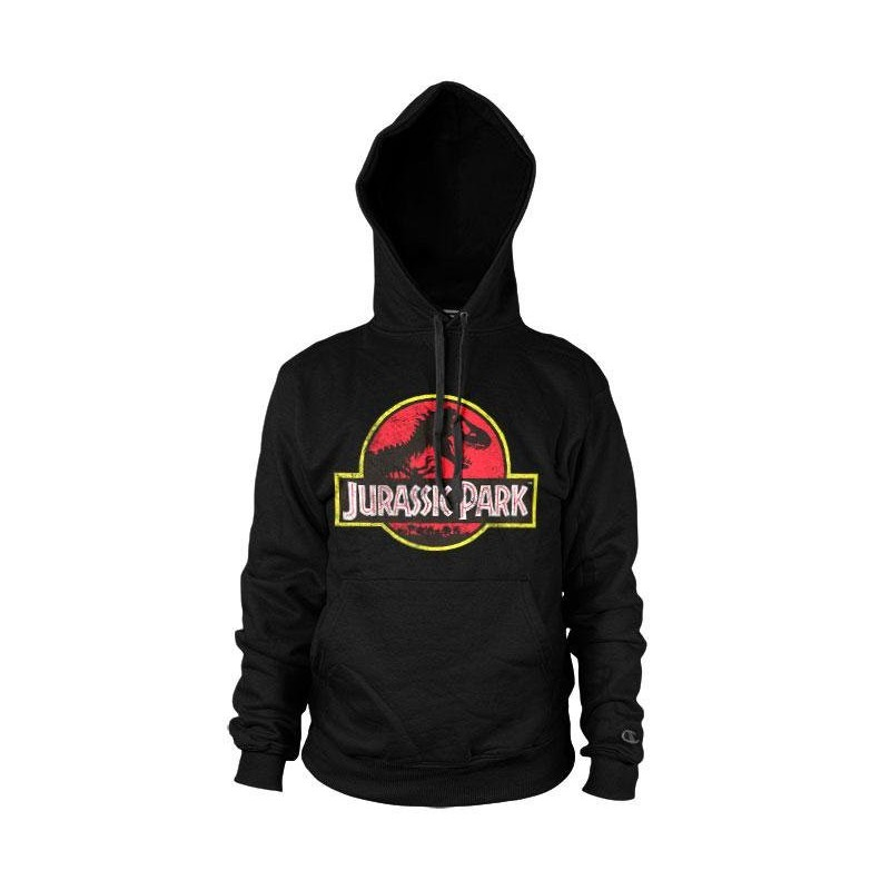 JURASSIC PARK - Distressed Logo Hoodies (XL) 171397  Hoodies