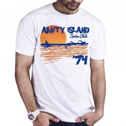 JAWS - T-Shirt Amity Island Swim Club (M) 168575  T-Shirts Jaws