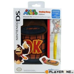 Donkey Kong Character Kit 3DS/DS : Housse + Stylet 133807  2DS-3DS Accessoires