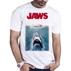 JAWS - T-Shirt Original Poster (M) 168564  T-Shirts Jaws