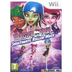 Monster High : Skulltimate Roller Maze 133314  Nintendo Wii