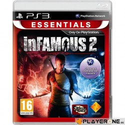 InFamous 2 (ESSENTIALS) 133294  Playstation 3