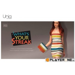 UNIQ - New Ipad 3 - STREAK - Urban - Blue/Red/Grey