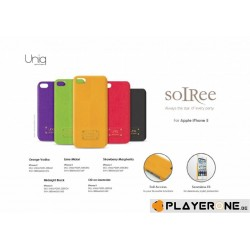 UNIQ - Iphone 5 - Couvirsuit Soiree - Orange Vodka 132650  Telefoon Accessoires