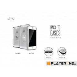 UNIQ - Iphone 5 - Back to Basics White 132643  Telefoon Accessoires