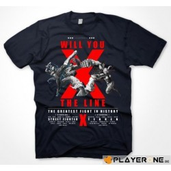 STREET FIGHTER X TEKKEN - Cross the Line (M) 132619  T-Shirts Streetfighter