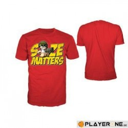WORMS - T-Shirt Red Matters Men (S) 132200  T-Shirts Mannen