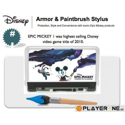 Epic Mickey 3DS Armor With Brush Stylus 132192  2DS-3DS Accessoires