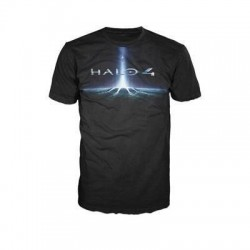 HALO 4 - T-Shirt Black - LOGO (XXL) 132037  T-Shirts Halo