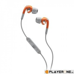 SKULLCANDY - FIX IN EAR Orange/Grey( With Mic + Shuffle Control ) 131756  Computer Accessoires
