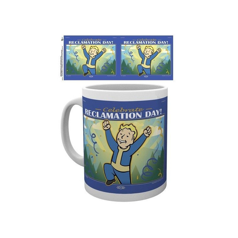 FALLOUT 76  - Beker - 315 ml - Reclamation Day