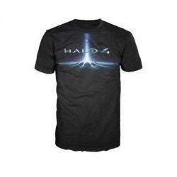 HALO 4 - T-Shirt Black - LOGO (XL) 131391  T-Shirts Halo