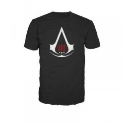 ASSASSIN'S CREED 3 - T-Shirt Black - Crest Logo (XL) 131379  T-Shirts Assassin's Creed