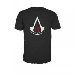 ASSASSIN'S CREED 3 - T-Shirt Black - Crest Logo (S) 131376  T-Shirts Assassin's Creed
