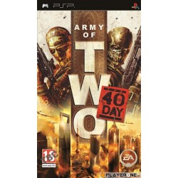Army of Two : The 40th Day ( ESSENTIALS ) 130453  PSP
