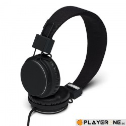 URBANEARS Plattan Headphone - Black 130241  Muziek Headsets - Oortjes