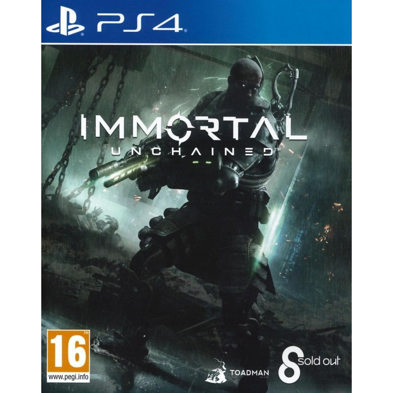 Immortal : Unchained - Playstation 4 168442 Playstation 4