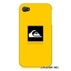 QUIKSILVER - Silicon Case Iphone 4/4S : Yellow 129601  Telefoon Accessoires