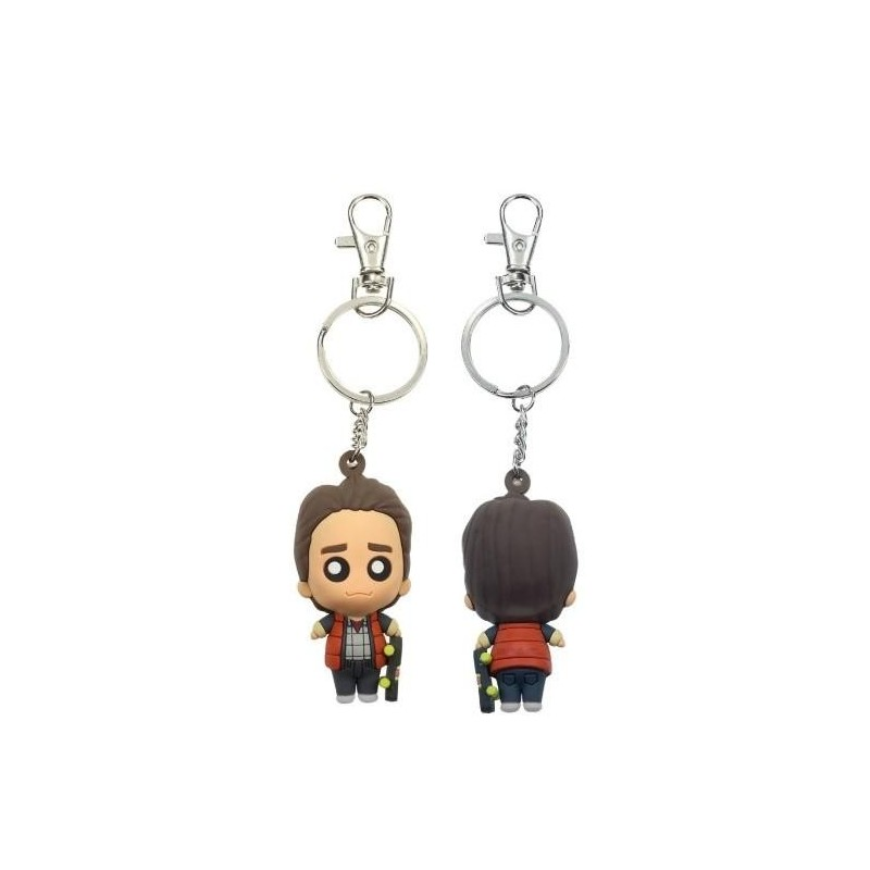 BACK TO THE FUTURE - Rubber Figure Keychain - Marty McFly 168435  Back to the future