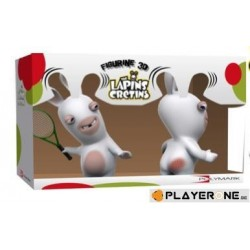 LAPINS CRETINS - Figurine 3D Lapin Tennis Double Pack ( 18 cm ) 128900  Figurines
