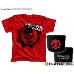GEARS OF WAR 3 - T-Shirt Combo and Wristband (XXL) 128700  Alles