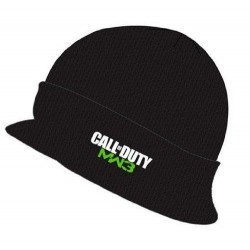 CALL OF DUTY MW3 - Black Billed Knit Full Color Logo 128625  Alles