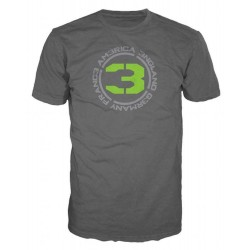 CALL OF DUTY MW3 - T-Shirt Charcoal - COUNTRIES 3 (M) 128621  T-Shirts Call Of Duty