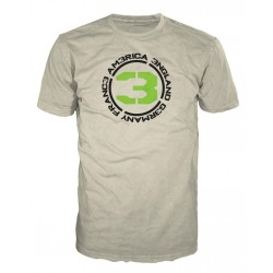 CALL OF DUTY MW3 - T-Shirt Sand - COUNTRIES 3 (L) 128617  T-Shirts Call Of Duty