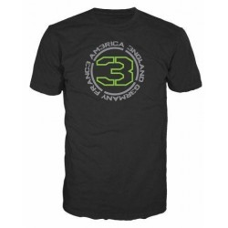 CALL OF DUTY MW3 - T-Shirt Black - COUNTRIES 3 (XL) 128462  T-Shirts Call Of Duty