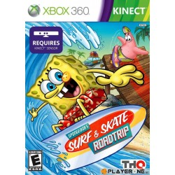 Bob Leponge : Surf and Skate Adventure KINECT - Xbox 360  128259  Xbox 360