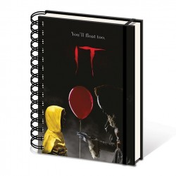 IT - Notebook A5 - Pennywise & Georgie 168390  Notitie Boeken