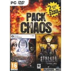 PACK CHAOS : Sacred 2 Fallen Angel + STALKER Clear Sky 127240  PC Games