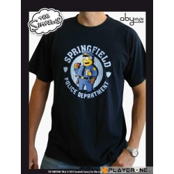 SIMPSONS - T-Shirt Homme Navy Blue Police (S) 126635  T-Shirts The Simpsons