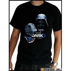 STAR WARS - T-Shirt Basic Men Dark Side (M) 126596  T-Shirts Mannen