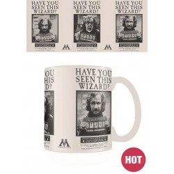 HARRY POTTER - Mug Heat Change 315 ml - Wanted Sirius Black 168361  Drinkbekers - Mugs
