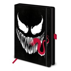 MARVEL - Notebook A5 Premium - Venom Face 168359  Notitie Boeken
