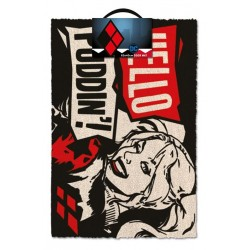 DEADPOOL - Door Mat 40X60 - Harley Quinn : Hello Puddin'