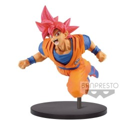 DRAGON BALL SUPER - Figurine Son Goku Fes Vol 9 - Super Saian GOD 171369  Dragon Ball