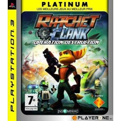 Ratchet and Clank : A crack in Time (PLATINUM) 124526  Playstation 3