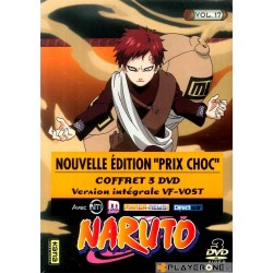 NARUTO - Vol 17 - (3DVD) SLIM BOX 124268  Manga Films
