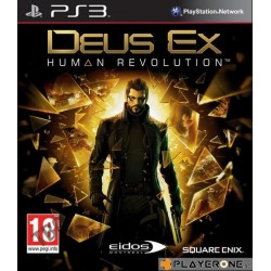 Deus Ex : Human Revolution 124090  Playstation 3