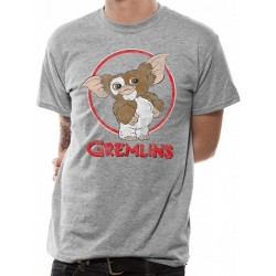 GREMLINS - T-Shirt IN A TUBE - Gizmo Distressed (L) 168324  T-Shirts Gremlins