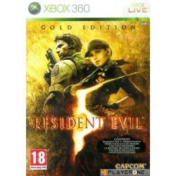 Resident Evil 5 GOLD EDITION - Xbox 360  123446  Xbox 360