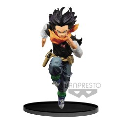 DRAGON BALL - Figurine BWFC Colosseum 2 - Vol 3 - Android 17 - 17cm 171367  Dragon Ball
