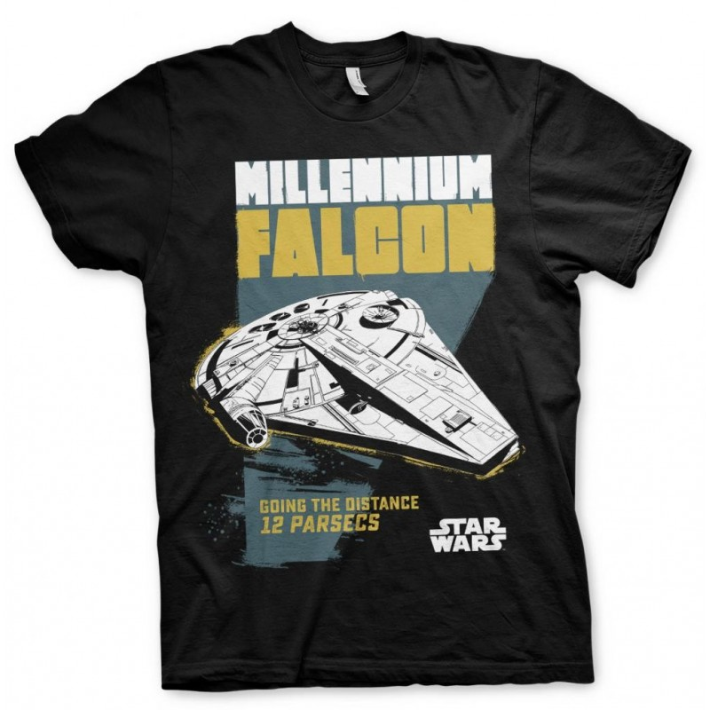 STAR WARS - T-Shirt Millennium Falcon Going the Distance (L) 168271  T-Shirts