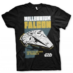 STAR WARS - T-Shirt Millennium Falcon Going the Distance (M) 168270  T-Shirts Star Wars