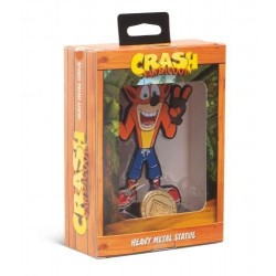 CRASH BANDICOOT - Heavy Metal Statue - Crash - 13cm 168097  Action Figure