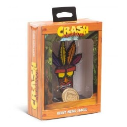 CRASH BANDICOOT - Heavy Metal Statue - Aku Aku - 13cm 168096  Action Figure