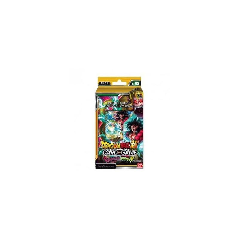 DRAGON BALL SUPER Card Games - Starter 05 / FR - Pce 168021  Dragon Ball